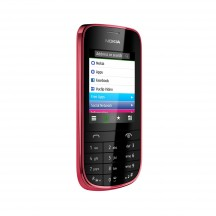 Nokia Asha 203 - Dark Red (красный)