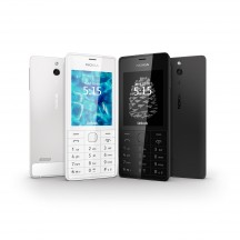 Nokia 515 Dual Sim - White (белый) and Nokia 515 Dual Sim - Black (черный)