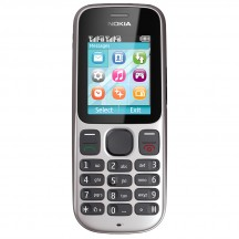 Nokia 101 - Metallic grey (серый)