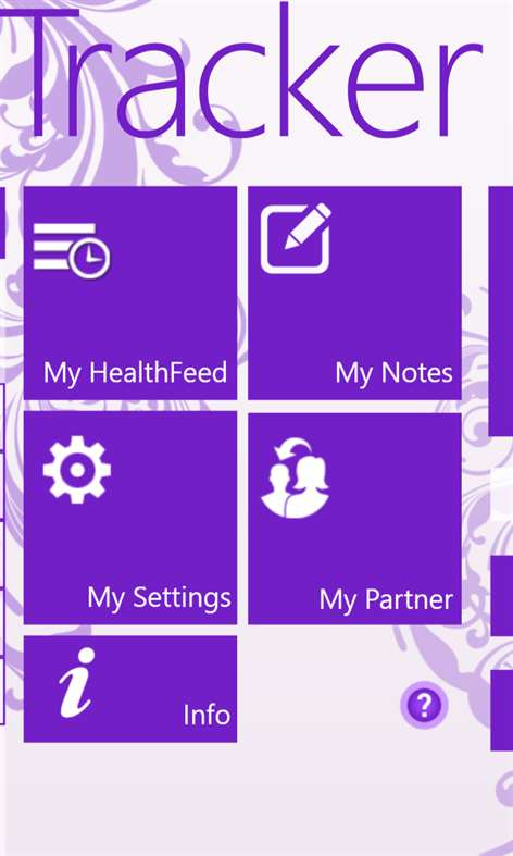 My Period Tracker / Calendar для смартфонов Windows Phone