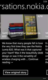 Nokia Xpress Beta для Windows Phone
