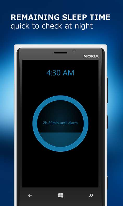 Gentle Alarm Clock Lite для смартфонов Windows Phone
